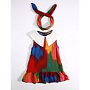 رخيصةأون حنفيات المطبخ-لفتاة فستان بلوك ألوان يوميا قطن صيف زهري أرجواني