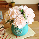 baratos Flor artificiali-Flores artificiais 5 Ramo Estilo Europeu Peônias Flor de Mesa