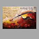cheap Rolled Canvas Prints-Oil Painting Hand Painted - Abstract Abstract / Modern / Contemporary Canvas / Stretched Canvas