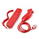 Χαμηλού Κόστους Αξεσουάρ Wii-Ασύρματη Χειριστήριο παιχνιδιού Για Wii U / Wii ,  Φορητά / Πρωτότυπες Χειριστήριο παιχνιδιού Μεταλλικό / ABS 1 pcs μονάδα