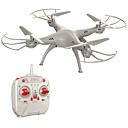 baratos Pinturas Abstratas-RC Drone Z1+ Canal 4 6 Eixos 2.4G Quadcópero com CR Quadcóptero RC / Controle Remoto / 1 Cabo carregador USB / Retorno Com 1 Botão