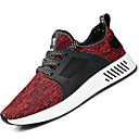 cheap Men's Sneakers-Men's Tulle / PU(Polyurethane) Spring / Fall Comfort Athletic Shoes Black / Gray / Red