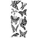 cheap Human Hair Wigs-1 pcs Tattoo Stickers Temporary Tattoos Animal Series Waterproof Body Arts Hand / Arm / Wrist