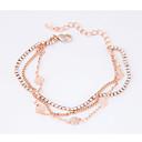 cheap Bracelets-Women's Charm Bracelet - Flower Dainty, Fashion Bracelet Gold For Party