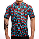 cheap Cycling Jerseys-SUREA Men's Short Sleeve Cycling Jersey Mermaid Scales Bike Jersey Top, Breathable Quick Dry Sweat-wicking Coolmax® Lycra / High Elasticity