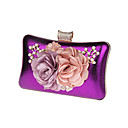 cheap Clutches & Evening Bags-Women's Bags Polyester / PU Coin Purse Bow(s) / Flower Red / Purple / Fuchsia
