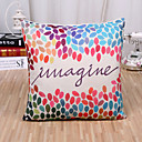 cheap Pillow Covers-1 pcs Cotton / Linen Pillow Cover / Pillow Case, Pattern Traditional / Classic