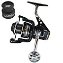 cheap Fishing Reels-Spinning Reel 5.5:1 Gear Ratio+13 Ball Bearings Hand Orientation Exchangable Sea Fishing Bait Casting Spinning Jigging Fishing Freshwater