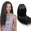 cheap Hair Braids-Braiding Hair Crochet / Yaki Straight Pre-loop Crochet Braids / Hair Accessory / Human Hair Extensions 100% kanekalon hair / Kanekalon 26 Roots Hair Braids Long Daily