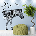 preiswerte Wand-Sticker-Tiere Freizeit Feiertage Wand-Sticker Flugzeug-Wand Sticker Dekorative Wand Sticker 3D, Papier Haus Dekoration Wandtattoo Wand Fenster