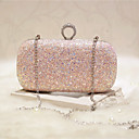 preiswerte Damen Sandalen-Damen Taschen PU Abendtasche für Veranstaltung / Fest / Party & Festivität / Klub Gold / Weiß / Rosa