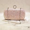 cheap Clutches & Evening Bags-Women's Bags PU Evening Bag for Event / Party / Party & Evening / Club Gold / White / Blushing Pink