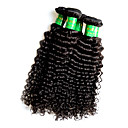 cheap Unprocessed Hair-Remy Human Hair Remy Weaves Curly Indian Hair 500 g