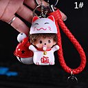 cheap Straps, Dangles, Charms-Bag / Phone / Keychain Charms Jingle Bell Cartoon Toy Phone Strap PVC
