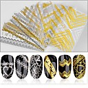 billige Neglefiler og -buffere-1 pcs Klistremerker & Tape Nail Decals Nail Art Design