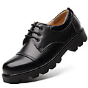 cheap Women's Flats-Men's Formal Shoes Nappa Leather Fall / Winter Oxfords Black / Party & Evening