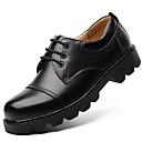 olcso Latin cipők-Férfi Formális cipők Nappa Leather Ősz / Tél Félcipők Fekete / Party és Estélyi