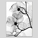 cheap Oil Paintings-Oil Painting Hand Painted - Floral / Botanical Classic Modern Canvas