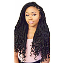 cheap Hair Braids-Braiding Hair Curly Dreadlocks / Faux Locs Synthetic Hair 1pc / pack, 24 roots / pack Hair Braids Ombre Medium Length Ombre Braiding Hair / Dreadlock Extensions / Dreads Locs