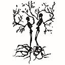 preiswerte Gerollte Leinwand-Feiertage Botanisch Cartoon Design Wand-Sticker Flugzeug-Wand Sticker Dekorative Wand Sticker, PVC Haus Dekoration Wandtattoo Wand Glas /