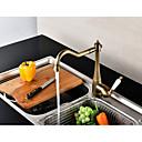economico Rubinetti per lavello-Rubinetto da cucina - Una manopola Un foro Rame anticato Canna alta Installazione centrale Moderno / Antico Kitchen Taps