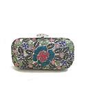 baratos Bolsas de Ombro-Mulheres Bolsas vidro / Metal Bolsa de Festa Detalhes em Cristal Azul