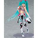 billige Anime actionfigurer-Anime Action Figurer Inspirert av Vokaloid Hatsune Miku PVC 15 CM Modell Leker Dukke