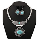 cheap LED Corn Lights-Women's Jewelry Set - Vintage Include Gold / Silver / Blue For Party / Daily