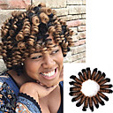 cheap Hair Braids-curlkalon crochet braids 20inch kenzie curl kanekalon braiding hair synthetic braids crochet hair extensions 20roots pack 5packs make one head