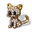 cheap Pins and Brooches-Women's Brooches - Animal Unique Design, Fashion, Cute Brooch Gold / Silver For Special Occasion / Event / Party / Daily / Casual