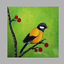 cheap Animal Paintings-Oil Painting Hand Painted - Animals Artistic Canvas