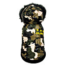 cheap Dog Clothes-Dog Jumpsuit Dog Clothes American / USA Cotton Costume For Pets Men's / Women's Casual / Daily