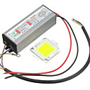 billige Andre Deler-1pc high power 100w led smd chip pære med vanntett driver forsyning