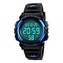 cheap Bakeware-SKMEI Sport Watch Military Watch Wrist Watch Japanese Digital 50 m Water Resistant / Water Proof Alarm Calendar / date / day PU Band Digital Fashion Black - Black Red Blue / Chronograph / Stopwatch