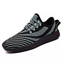 abordables Zapatos de Niño-Chico Zapatos PU Primavera Otoño Confort Zapatillas de Atletismo Paseo Con Cordón para Deportivo Al aire libre Negro Azul Oscuro Rosado y