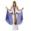 זול עזרים ל-Halloween-תחפושות מצריות קווין קליאופטרה תחפושות קוספליי תחפושת למסיבה נשף מסכות בגדי ריקוד נשים מצרים העתיקה האלווין (ליל כל הקדושים) קרנבל פסטיבל / חג תלבושות לבן וינטאג'