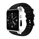 זול שעונים חכמים-חכמים שעונים X86 ל Android שיחות ללא מגע יד / מסך מגע / עמיד במים / וידאו / מצלמה מד צעדים / מעקב שינה / Alarm Clock / לוח שנה / 512MB / 100-120 / MTK6572