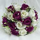 "cheap Wedding Flowers-Wedding Flowers Bouquets Wedding Satin 9.84""(Approx.25cm)"