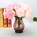 cheap Artificial Flower-Artificial Flowers 5 Branch European Peonies Tabletop Flower