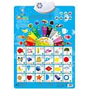 baratos Brinquedos de Leitura-Cartões Educativos Brinquedo de Leitura Quadrada Plásticos Crianças Dom