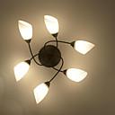 baratos Luminárias de Teto-6-luz Montagem do Fluxo Luz Ambiente - Antirreflexo, Estilo Mini, 220V / 110V Lâmpada Não Incluída / 10-15㎡ / E26 / E27