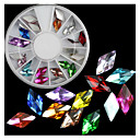 cheap Rhinestone & Decorations-1 pcs Nail Jewelry nail art Manicure Pedicure Daily Fashion