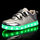 cheap Synthetic Capless Wigs-Girls' Shoes Tulle / PU Spring / Fall Comfort / Light Up Shoes Sneakers Walking Shoes Magic Tape / LED for Gold / Silver / Pink