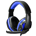cheap Headsets & Headphones-Over Ear / Headband Wired Headphones Plastic Gaming Earphone with Volume Control / with Microphone / Noise-isolating Headset