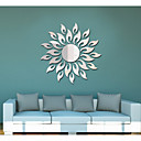 cheap Wall Stickers-Abstract Romance Shapes Wall Stickers Mirror Wall Stickers Decorative Wall Stickers, Acrylic Home Decoration Wall Decal Wall