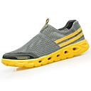 cheap Men's Bracelets-Men's Light Soles PU(Polyurethane) Spring / Fall Comfort Athletic Shoes Walking Shoes Black / Dark Blue / Yellow