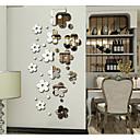 halpa Seinätarrat-Koriste-seinätarrat - Peilitarrat Abstrakti / Muodot / 3D Makuuhuone / Ruokailuhuone / Työhuone / toimisto