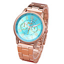 hesapli Moda Saatler-Kadın's Quartz Bilek Saati Gündelik Saatler Alaşım Bant Günlük Moda Altın Rengi