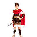 cheap Halloween & Carnival Costumes-Roman Costumes / Egyptian Costume / Cosplay Cosplay Costume / Party Costume / Masquerade Boys' Halloween / Carnival / Children's Day Festival / Holiday Halloween Costumes Red+Brown Other / Vintage