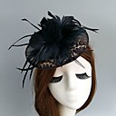 cheap Party Headpieces-Net Fascinators Hats Birdcage Veils Headpiece Classical Feminine Style